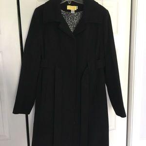 Motherhood Maternity Black Pea Coat